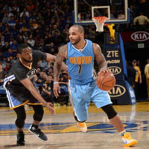 Nuggets vs. Golden State Warriors 2016